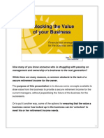 Sun Life Financial - Unlocking the Value in a Business