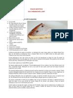 Pasca dietetica sau cheesecake light