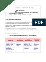 SEMANA DEL 28 AL 4 DE OCTUBRE DEL 2020 Sociales