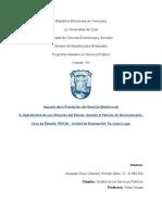 Impacto de la Prestación del Servicio Eléctrico en la Operatividad de una Empresa del Estado, durante el Periodo de Racionamiento.  Caso de Estudio