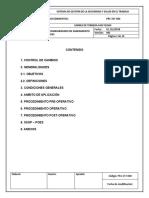 PRC-SST-025 PROCEDIMIENTOS ESTANDARIZADOS POES