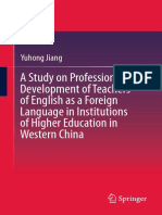 A Study on Professional Development of Teachers of English as a Foreign Language in Institutions of Higher Education in Western China ( PDFDrive.com ).pdf