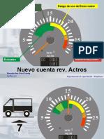 Presentacion del cuenta revoluciones Actros MP II
