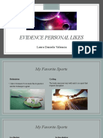 Evidence Personal Likes.pptx