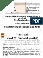 PPT_Unidad 2.2.b Funcionalismo Merton_Clase 2