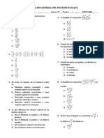 5 - Evaluacion General del 1er periodo