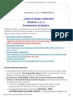 Tema_ Foro_ Desarrollo del trabajo Semana 3, 4 y 5. - quimic