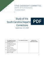SCDC Ad Hoc Committee Report