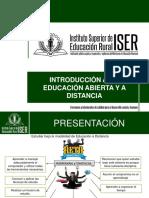 INTRODUCCIÓN EDUCACION DISTANCIA