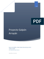 Informe Galpón SGM