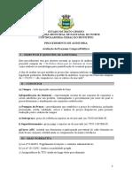 3. Modelo de Procedimento de Auditoria - Avaliação de Preços de Compras Públicas (1)