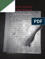 Carmen Alardín - Nuevas formas de hacer poesía (2018)