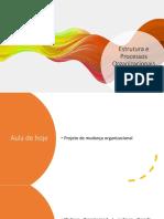 EPO - Aula 4 - Mudança organizacional