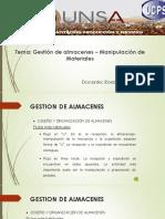 GESTIÓN DE ALMACENES_Manipulación de materiales