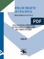 NORMA DE HIGIENE OCUPACIONAL NHO09