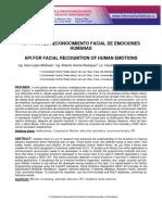 API PARA EL RECONOCIMIENTO FACIAL DE EMOCIONES HUMANAS