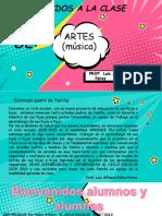 2. Presentación de Actividades  Artes