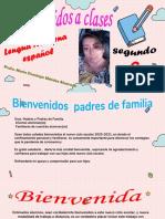2. Presentación de Actividades  Español