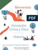 2. Presentación de Actividades Historia 2°