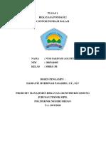 Nur Sakinah Agustina Siregar (NIM 1805141005) Tugas 1 Rekayasa Pondasi 2
