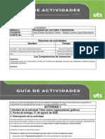 1. Guia de actividades primer corte Act 1 y 2 Procesos Lectura y Escritura