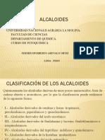 ALCALOIDES CLASE 2020-I