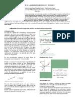 Informe Laboratorio de Fisica pendulo