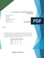 TAUTOLOGÍA , CONTRADICCIONES Y FALACIAS b1