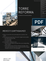 torre reforma and its seismic structure