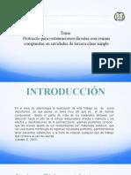 3.Protocolo de restauraciones de 3era clase – simple