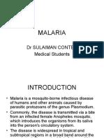MALARIA MeStudents