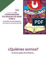 Experiencia Bíblica CEBs Los Chorros - Colombia