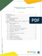 Guia Protocolo para uso y desinfección de maquinaria pesada