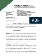 Exp. 2008-593-Proceso de Amparo