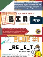 NRNW BINGO CLUES and Social Media Promotion