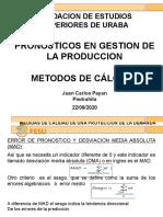 PRONOSTICOS EN PRODUCCION METODOS