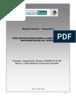 Guia Metodologica para Adecuacion e Implementacion del Modelo