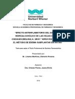 T061_42042588_T_EFECTO ANTIINFLAMATORIO DEL EXTRACTO HIDROALC_HOJAS DE LUMA QUEQUEN MEDIANTE METODO DE EDEMA SUBPLANTAR.pdf