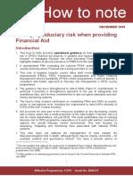 Fiduiciary Risk Report dfidhowtonotefiduciaryrisk