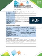 Guía de actividades y rúbrica de evaluación - Fase 3. Conocer las fuentes de energía y sistemas de mecanización agrícola