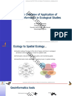An overview of Application of Geoinformatics in Ecology_Dr. Hitendra