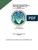 Laboratorio ciclo hidrologico Christa Gramajo