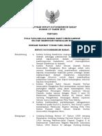 Peraturan Bupati Pola Tata Kelola Rsud 2013