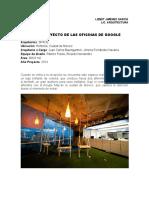Tarea. 5 .-  PROYECTO DE LAS OFICINAS DE GOOGLE