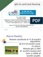 Women's Right to Land & Housing by Vibhuti Patel