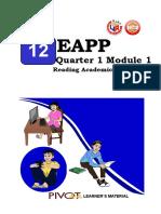 module 1 eapp