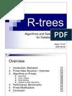 R-Trees - Presentation Slides