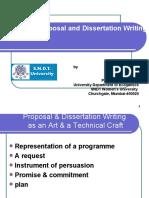 Research Proposal & DessertatIon Writing by Prof. Vibhuti Patel