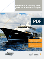 Case Study Long Term Reference of a Floating Floor in the Superyacht _M.Y