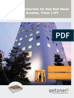 Case Study Vibration Protection for Red Bull Music Academy in Aoyama EN